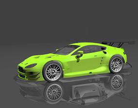 3D asset Aston Martin GTE