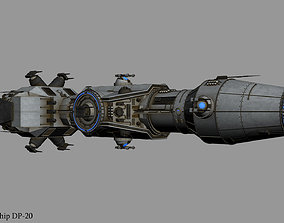 3D Correlian Gunship DP-20 from Star Wars