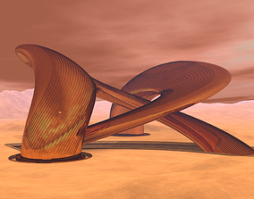 3D Mars City
