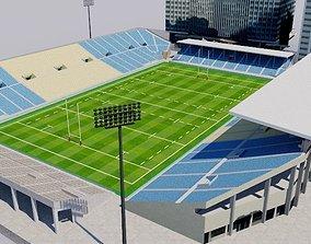 3D asset Chichibunomiya Rugby Stadium - Tokyo