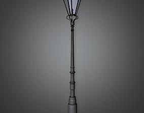 3D model Old Light Post 1 CEM - PBR Game Ready