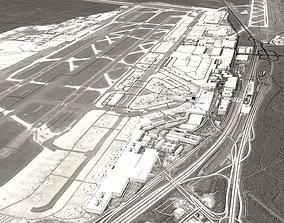 3D Frankfurt Airport France Flughafen Frankfurt am Main