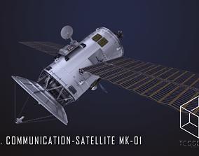 3D model NEO Communication Satellite Mk-1