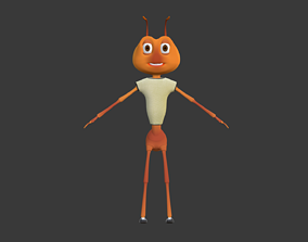 Ant Character 3D asset