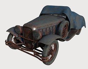 3D Abandoned Car 19
