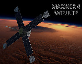 MARINER SATELLITE 3D model