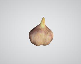 Realistic Garlic 3D model