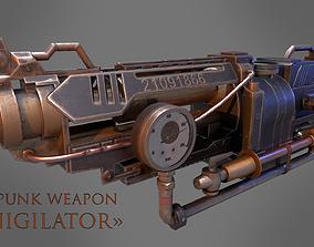 3D model Steampunk Weapon