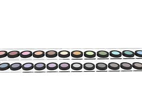3D Eye shadow set case eyeshadow showcase cosmetic display