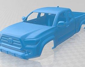 Toyota Tacoma 2016 Printable Body Car
