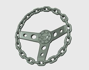 3D printable model Chain Steering wheel