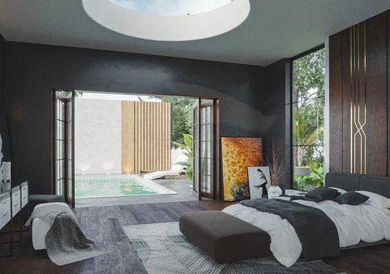 A Getaway - Interior Design Luxurious