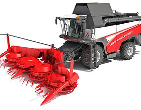 3D Forage Harvester Combine Rostselmash
