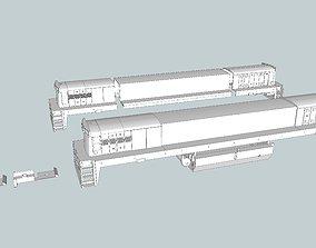 csx GE MATE HO Scale 3D Printable