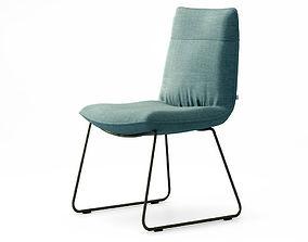 3D Rolf Benz 606 chair