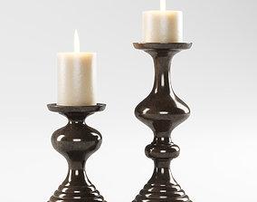Vermissen richmond candle holders 3D