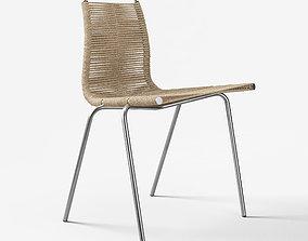 Carl Hansen Pk-1 Chair 3D asset