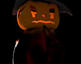 3D Pumpkin Head