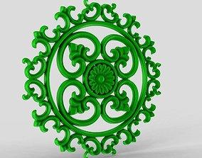 Rose Ring Carving 3D printable model