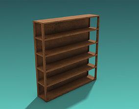 Shelves 3D model VR / AR ready PBR