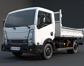 Light truck 3D asset