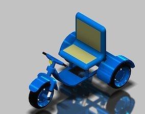 ATV All Terrain Vehicle 3D model