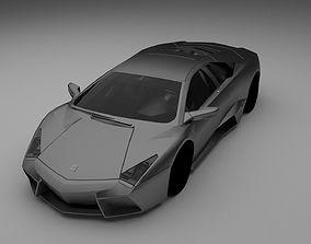 Lamborghini Reventon 3D model rigged