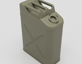 US Army WW2 Fuel Jerry Can 3D print model