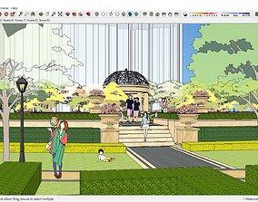 3D model Sketchup Park J7