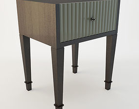 3D AdVivum Savile Drawer Bedside Table