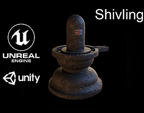 Shivling 3D model low-poly