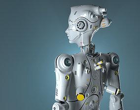 robot woman 3D