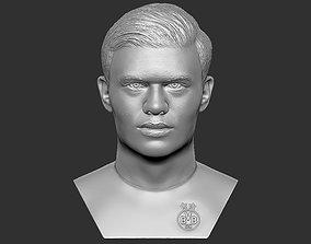 Erling Haaland bust 3D printing ready stl obj
