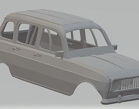 Renault 4L Printable Body Car