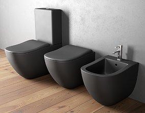 3D Ceramica Cielo Fluid WC