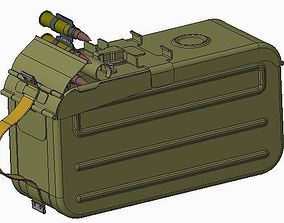 Magazine - Box - for PKM 3D model