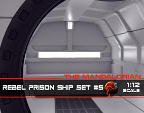 3D printable model The Mandalorian - Rebel Prison Ship 5 4