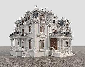 castle Classic Villa 3D model