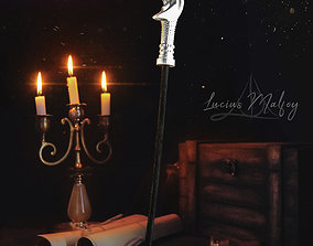 3D print model LUCIUS MALFOY WAND - HARRY