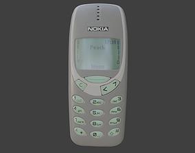 3D Nokia 3310 Gray