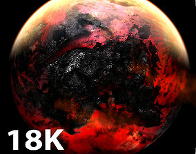 18K Apocalyptic Earth 3D