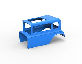 Diecast shell model for Hot rod mud dragster Scale 1 to