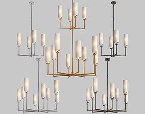 Ziyi chandelier 3D