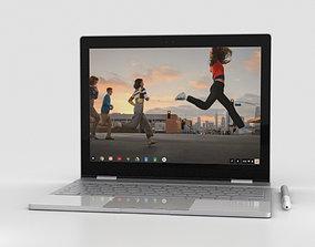3D model Google Pixelbook