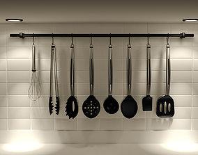 interior Kitchen Ware 3D