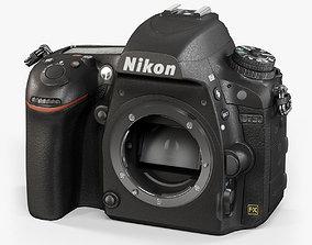 3D asset Nikon D750 Body DSLR camera