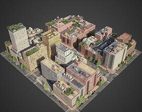 City District A6-A15 3D model