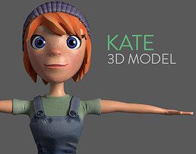 game-ready Stylised Girl Base Model