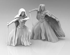 3D print model Female Mystical Knight Bundle
