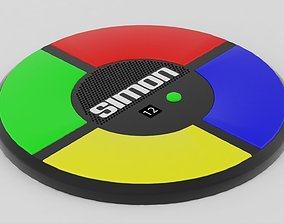 Simon Game 3D model